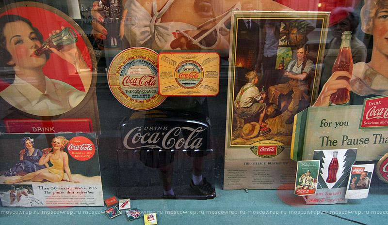 москва, московский репортаж, Гум, Coca-Cola, 125 лет