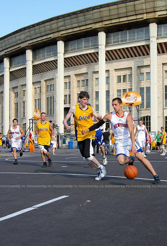 Московский репортаж, Москва, NBA 5 United, Adidas, Дуайт Ховард, Андрей Кириленко, баскетбол, Лужники