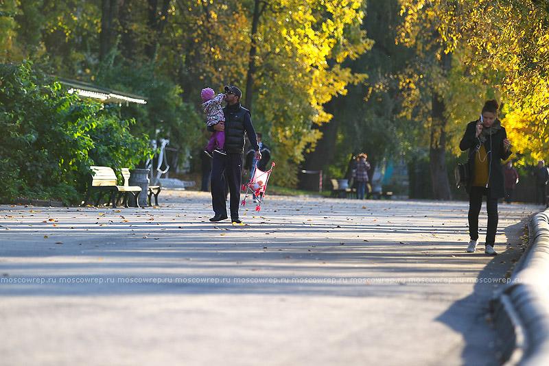 Московский репортаж, Москва, ЦПКиО, Парк культуры, Парк Горького, Seasons project