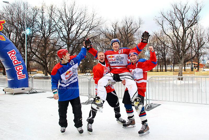 Московский репортаж, Москва, RedBull, RedBull Crashed Ice, Парк Культуры, Парк Горького