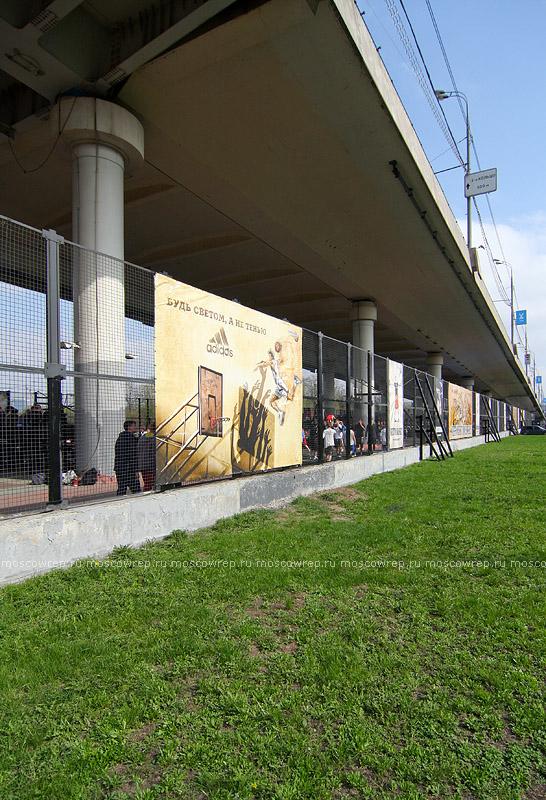 Московский репортаж, Москва, стритбол, Кубок победы, Под Мостом