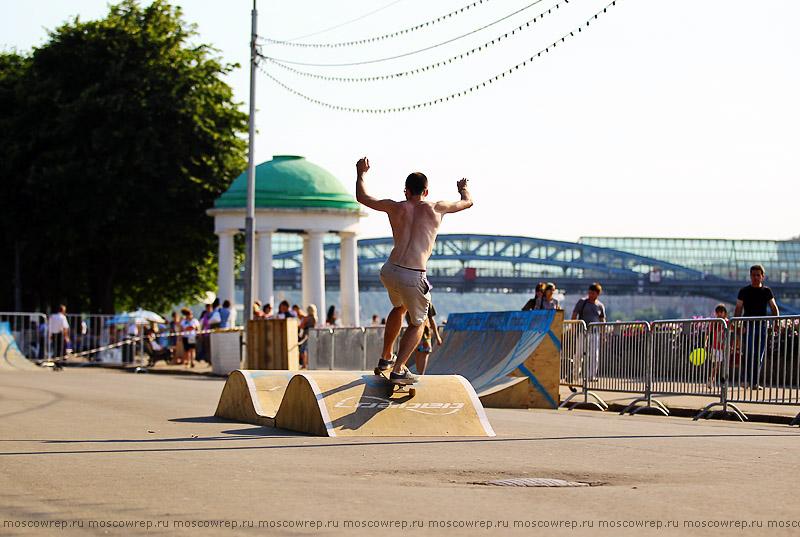 Московский репортаж, Москва, Adrenalin games, Парк Горького