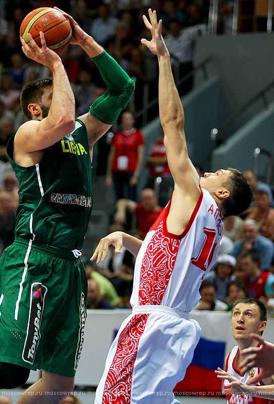 Московский репортаж, Москва, баскетбол, Россия, Литва