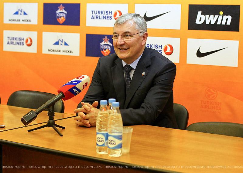 Московский репортаж, Москва, баскетбол, ЦСКА, Бильбао