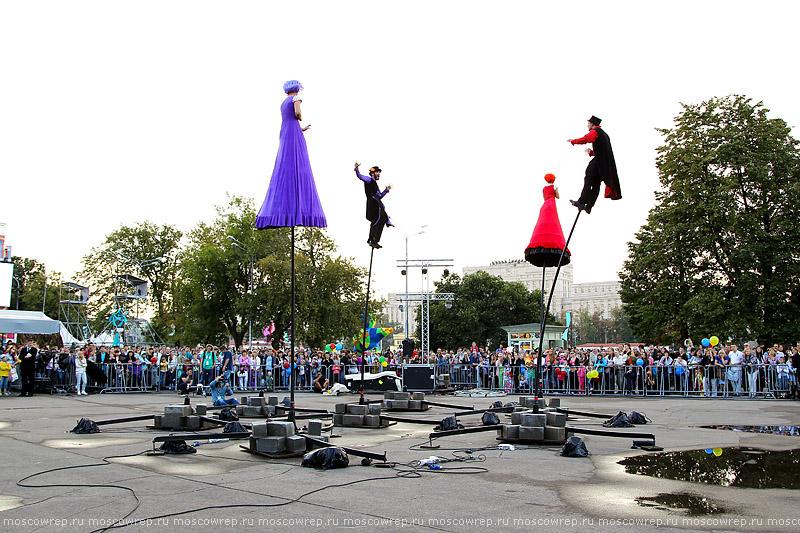 Московский репортаж, Москва, Яркие люди, Парк Горького
