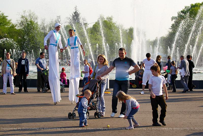 Московский репортаж, Москва, Парк Горького, Цирк