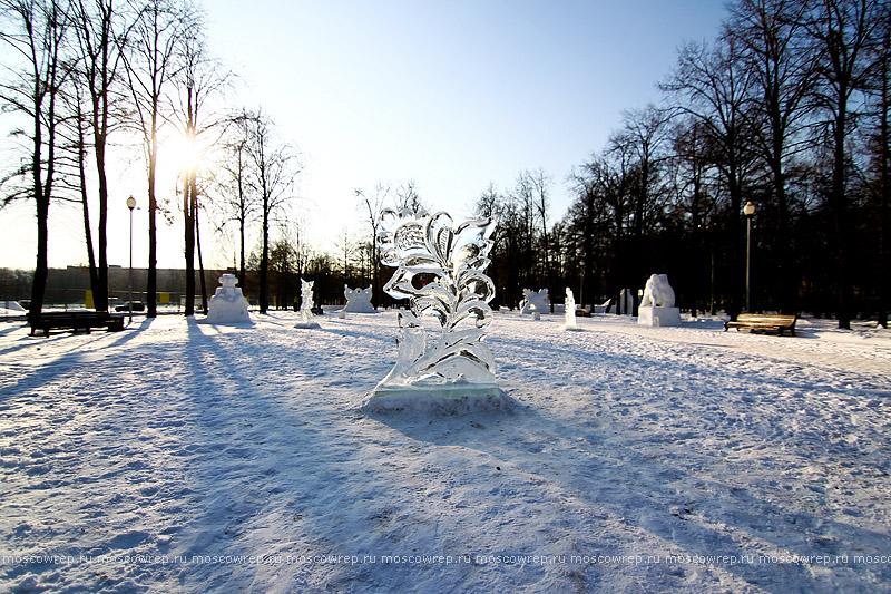 Московский репортаж, Москва, Фестиваль снега и льда, Снежное королевство, Лужники