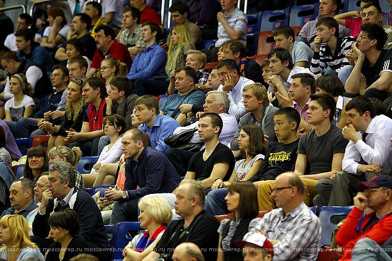 Московский репортаж, Москва, баскетбол, ЦСКА - Химки