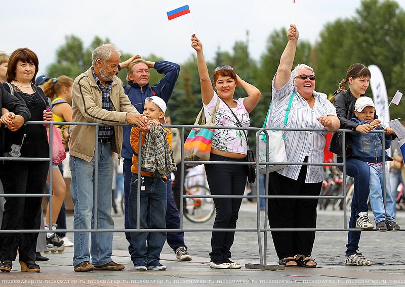 Московский репортаж, Москва, День флага России