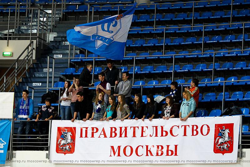 Московский репортаж, Москва, баскетбол, ЖБК Динамо, Спартак