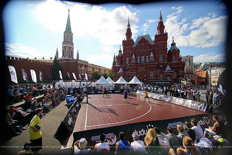 Московский репортаж, Москва, Dudu, стритбаскет, Красная площадь
