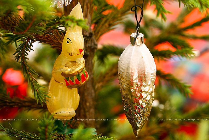 Московский репортаж, Москва, Новый год, ёлка, игрушки, винтаж