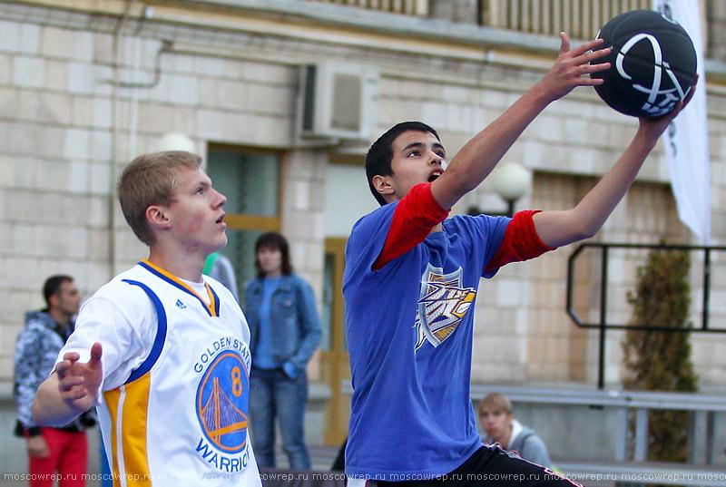 Московский репортаж, Москва, Лужники, День города, стритбол