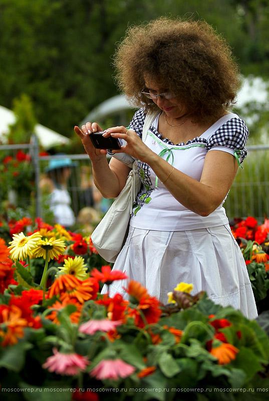 Московский репортаж, Москва, Фестиваль садов, Парк Горького