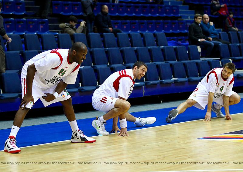 Московский репортаж, Москва, баскетбол, ЦСКА, Локомотив-Кубань