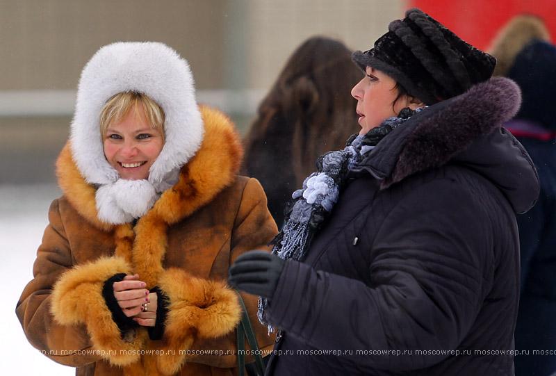 Московский репортаж, Москва, Лужники, Снежное королевство