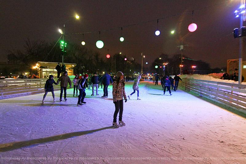 Московский репортаж, Москва, Парк Горького, Масленица, Полисский