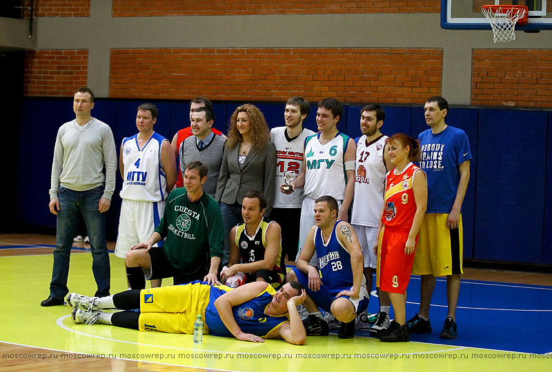 Московский репортаж, Москва, Матч всех звезд, МБЛ, баскетбол