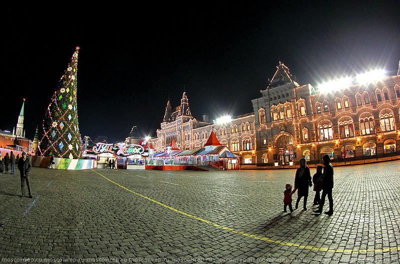 Московский репортаж, Москва, ГУМ, Новый Год