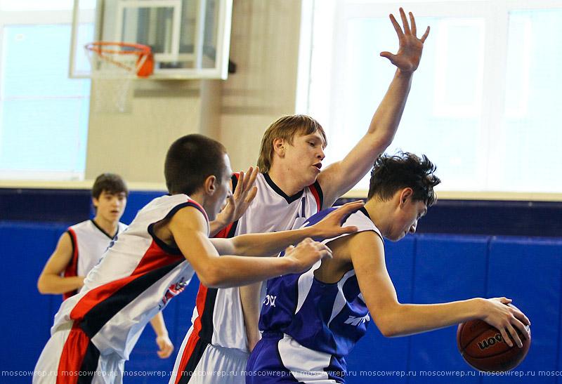 Московский репортаж, Москва, баскетбол, Тринта, Первенство России