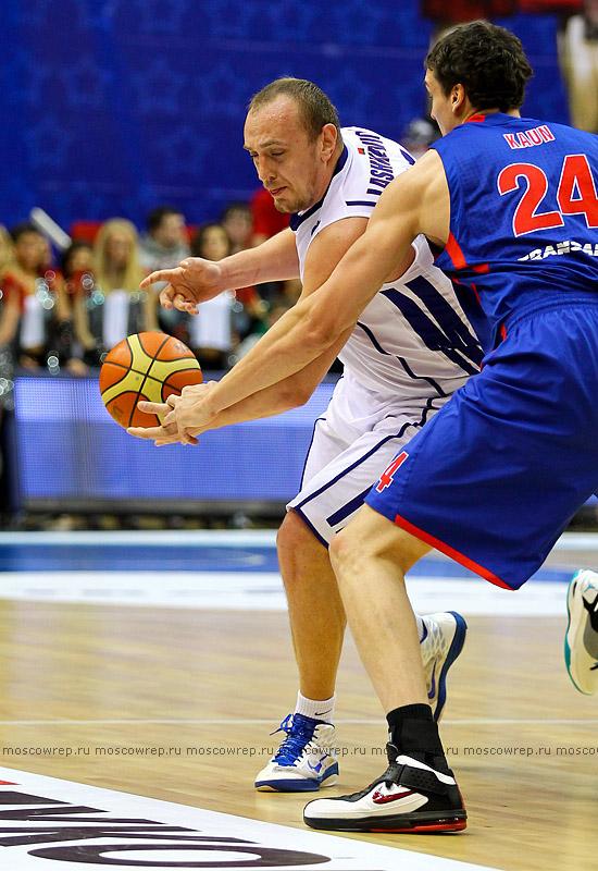 Московский репортаж, Москва, баскетбол, ЦСКА, Минск-2006