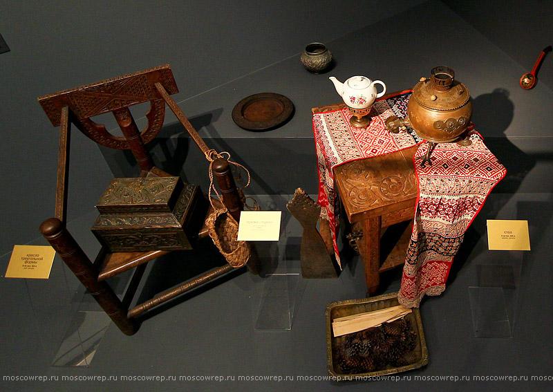 Московский репортаж, Москва, Самовары, Гжель, Царицыно