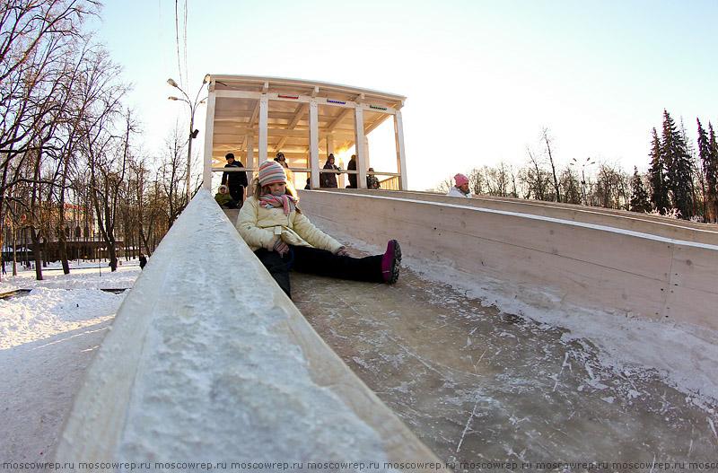 Московский репортаж, Москва, Парк Сокольники, Каток