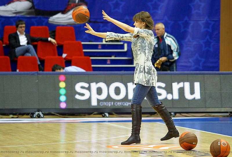 Московский репортаж, Москва, баскетбол, ЦСКА, Анадолу Эфес
