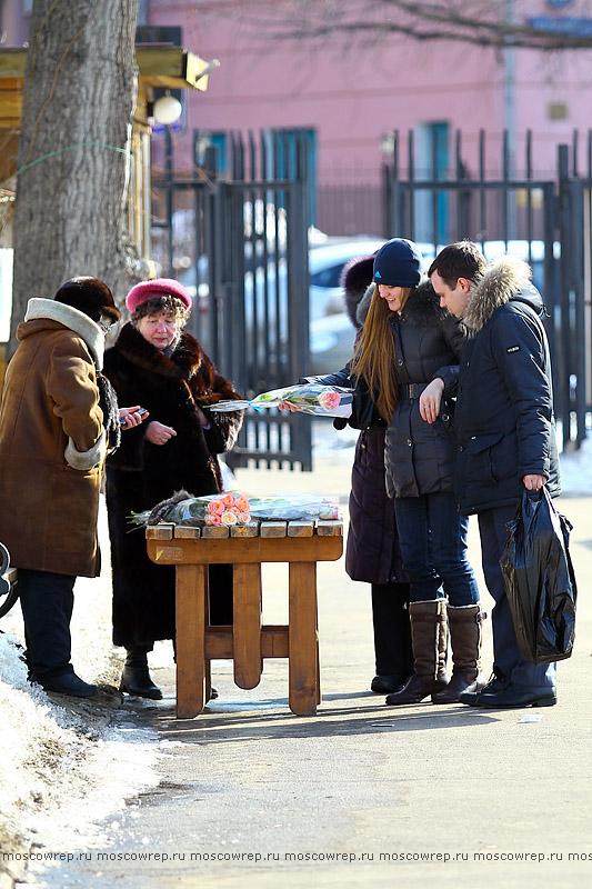 Московский репортаж, Москва, Музеон, 8 марта