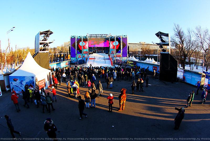 Московский репортаж, Москва, Adrenalin games, Адреналин геймс, Парк Горького, Парк Культуры