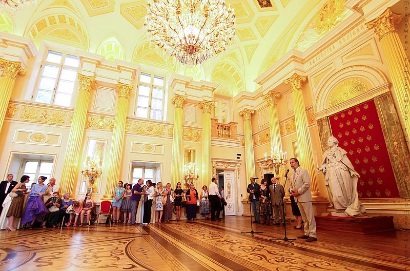 Московский репортаж, Москва, Царицыно, Бал