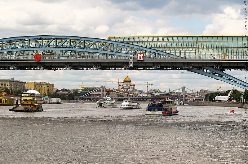 Московский репортаж, Москва, Москва река, ССК