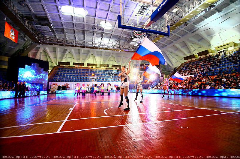 Московский репортаж, Москва, День баскетбола, Дружба, Куценко, </p> <p>Дворкович