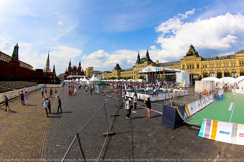 Московский репортаж, Москва, ГТО, Красная площадь