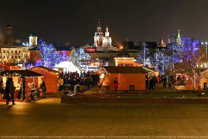 Москва, Московский репортаж, Новый Год, ярмарка