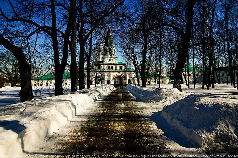 Московский репортаж, Москва, Коломенское, Весна