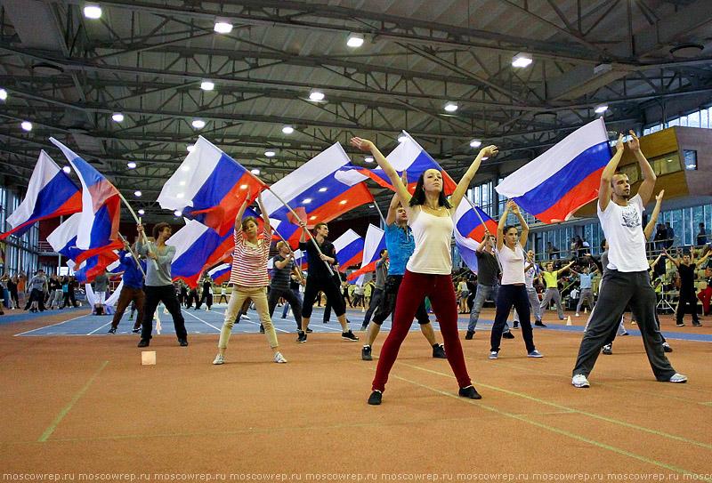 Московский репортаж, Москва, День города, репетиция