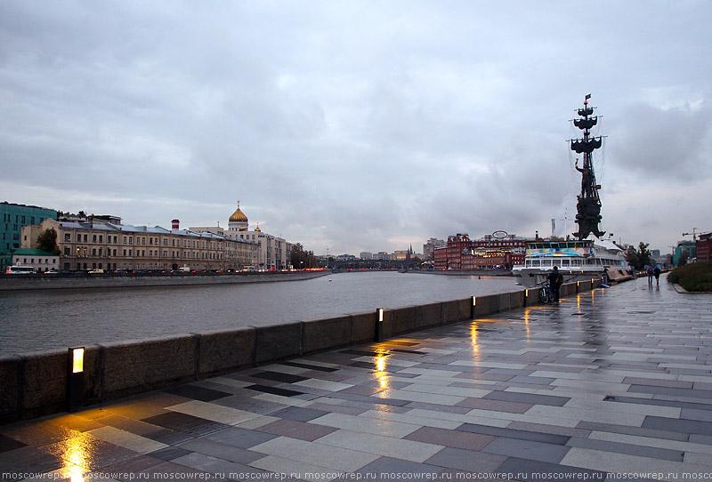Московский репортаж, Москва,  Крымская набережная, ЦДХ