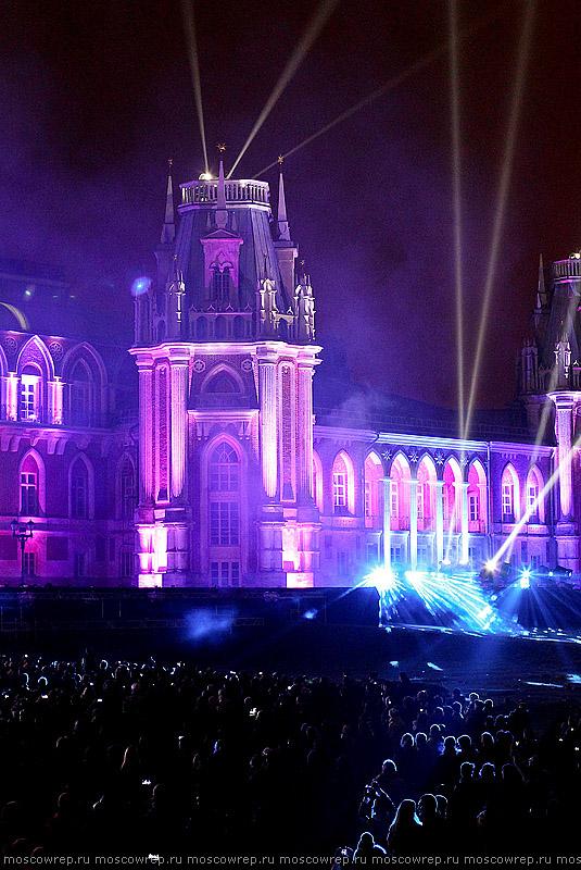 Московский репортаж, Москва, Царицыно, Light fest, В круге света