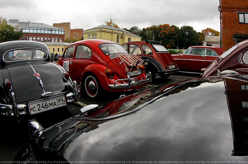 Московский репортаж, Москва, РККА, Ралли Клуб Классических Автомобилей, Mercedes-Benz Classic Day