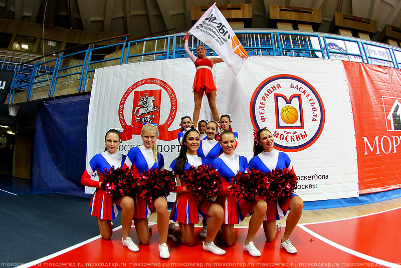 Московский репортаж, Москва,  Кубок региональных чемпионов МЛБЛ 2013, баскетбол, Дружба