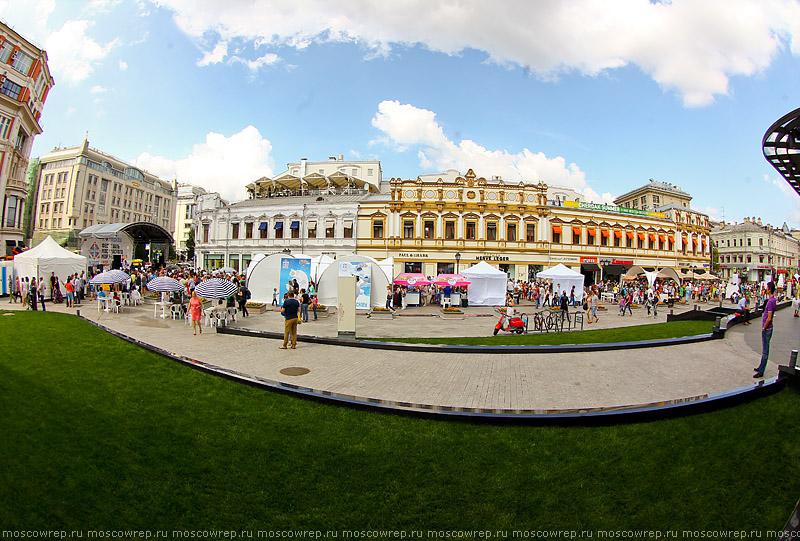 Московский репортаж, Москва, мороженое, Лучший город Земли, Кузнецкий мост, Фестиваль мороженого