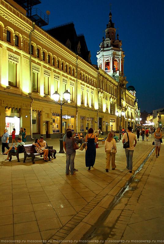 Московский репортаж, Москва, Никольская, архитектура