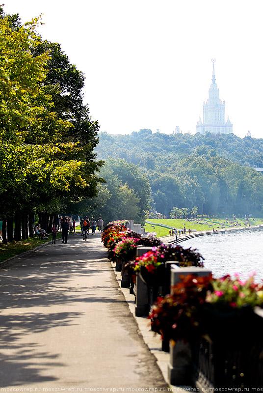Московский репортаж, Москва, Нескучный сад