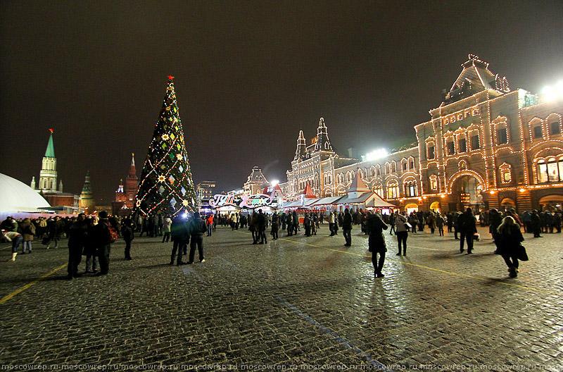 Московский репортаж, Москва, Новый год