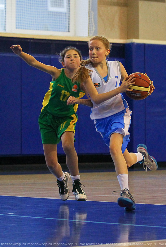 Московский репортаж, Москва, баскетбол, Тринта, Первые шаги