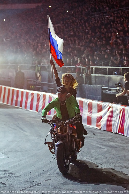 Московский репортаж, Москва, Олимпийский, Прорыв