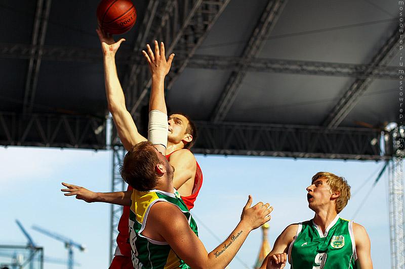 Московский репортаж, Москва, Красная площадь, АСБ, Баскетбол