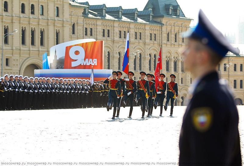 Московский репортаж, Москва, День Победы, Красная площадь, Парад Победы