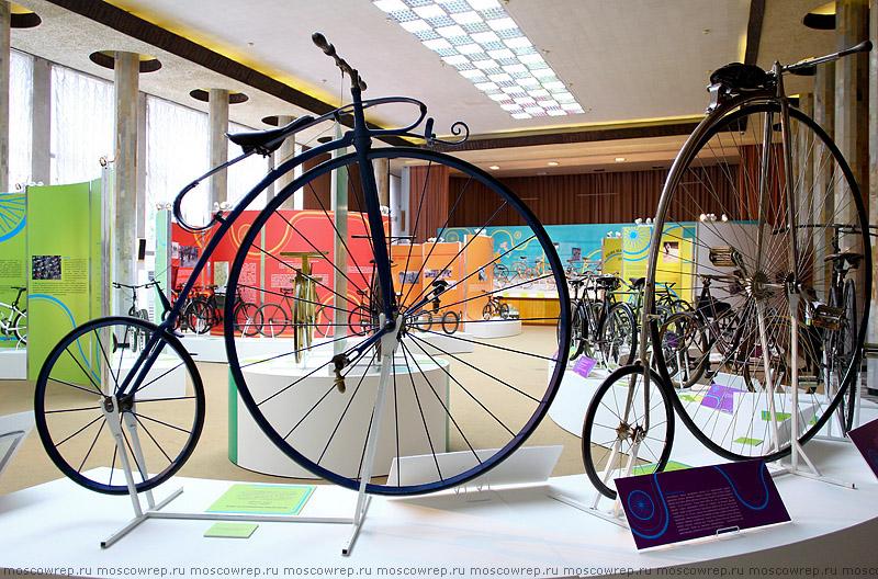 Московский репортаж, Москва, ВВЦ, велосипед, веловыставка, ВДНХ